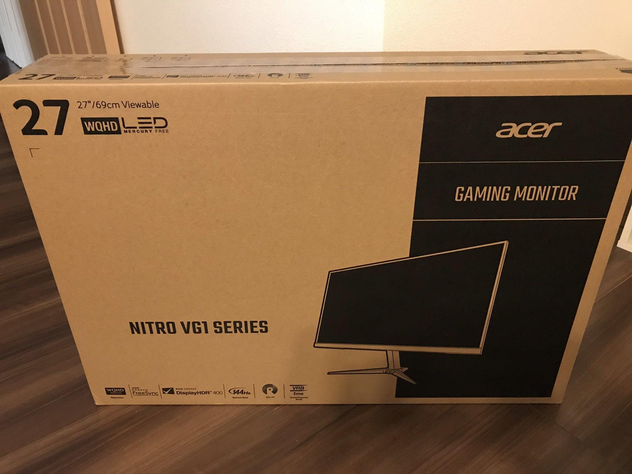 VG271UPbmiipx外箱