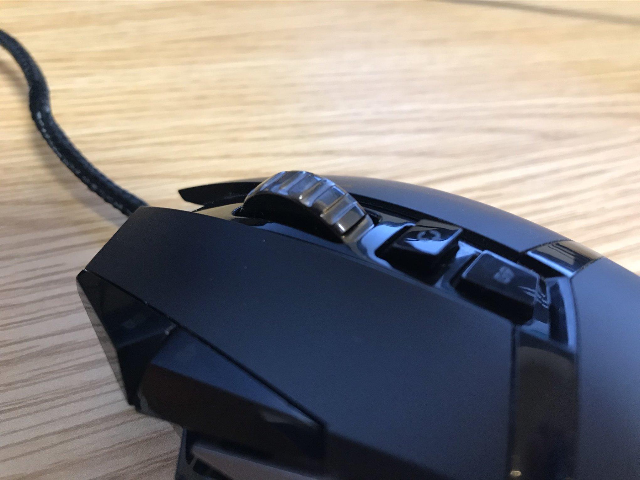 ロジクールG502のマウスホイール
