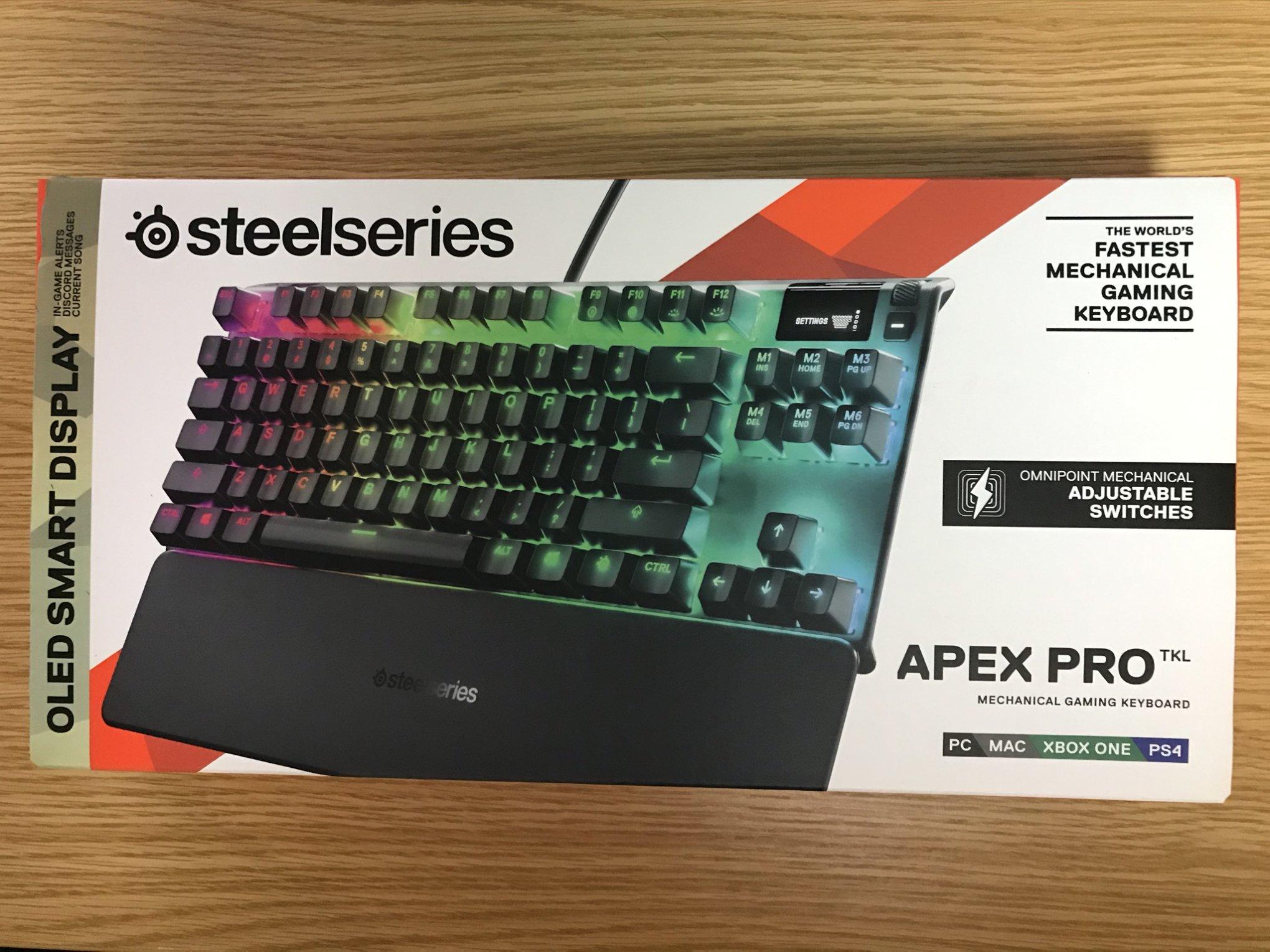 Apex Pro TKL外箱表