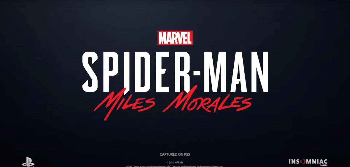 スパイダーマンマイルスモラレス