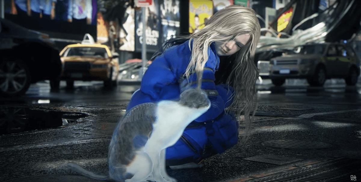 PRAGMATAの猫と女の子