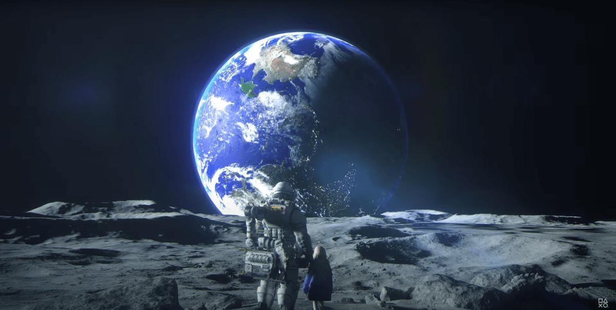 PRAGMATAで月面から見た地球