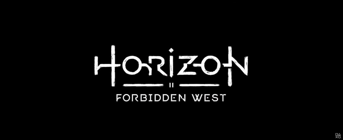HORIZON FO FORBIDDEN WESTタイトル