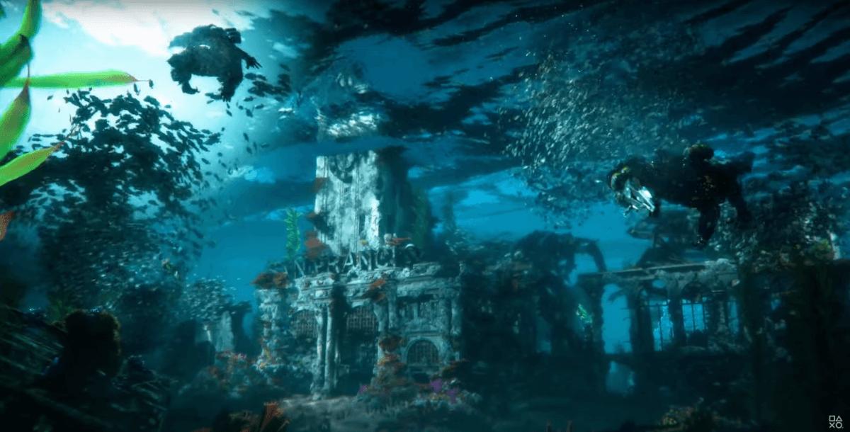 HORIZONの海底遺跡?