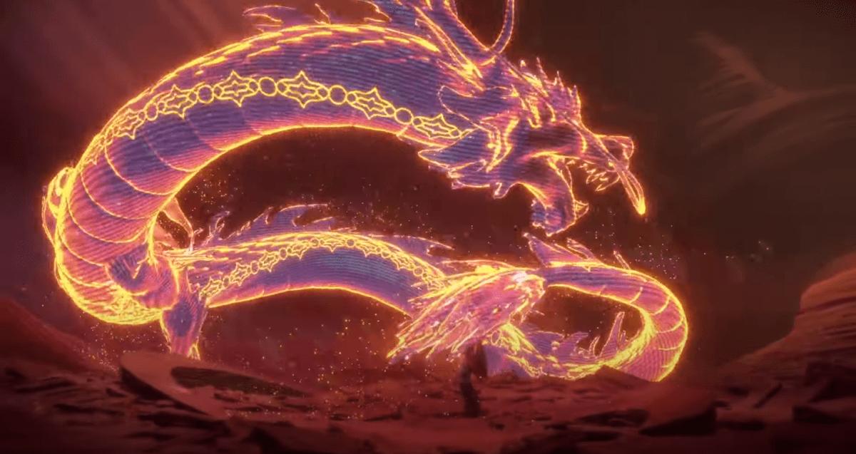 HORIZONの赤いドラゴン