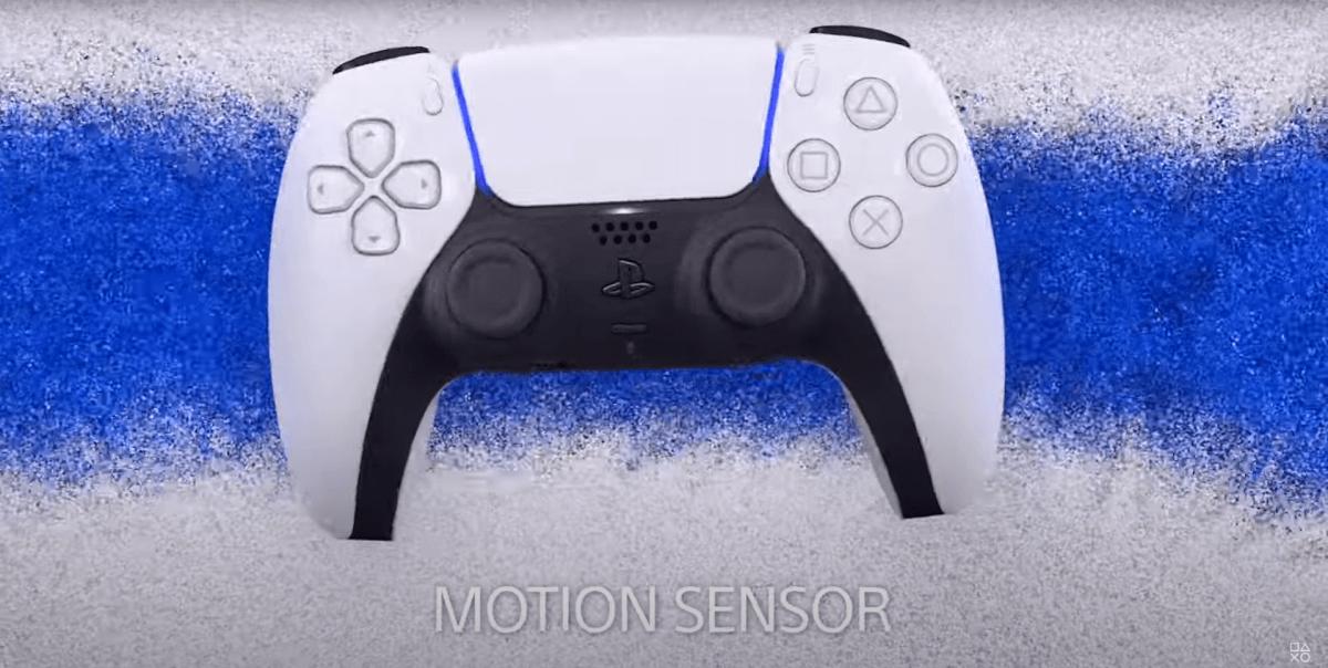 DualSenseのモーションセンサー
