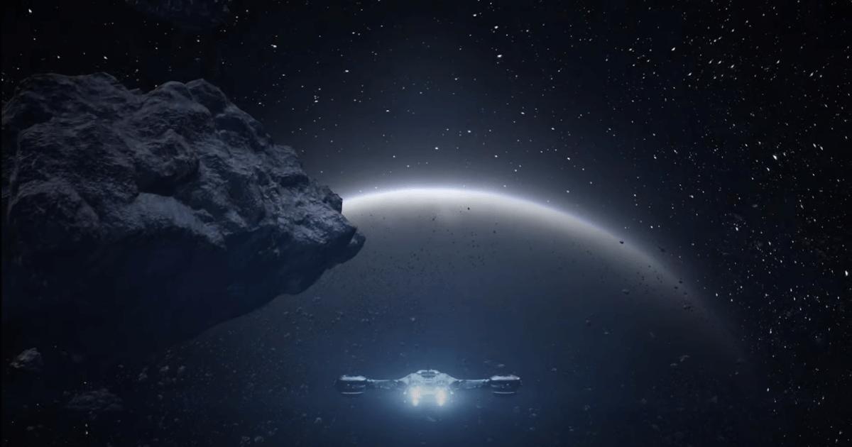 RETURNALの宇宙と宇宙船と惑星