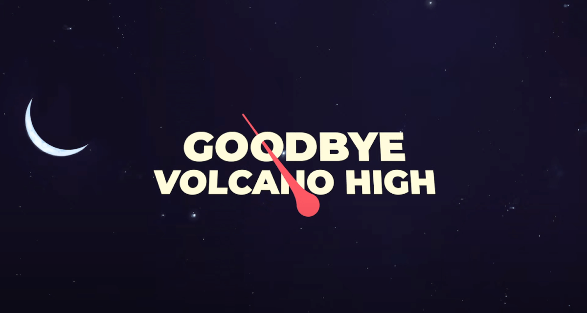 GOODBYE VOLCANO HIGHタイトル