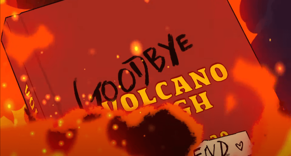 GOODBYE VOLCANO HIGHが燃える