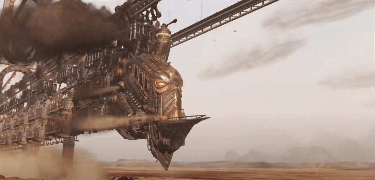 ODDWORLD SOULSTORMの電車?
