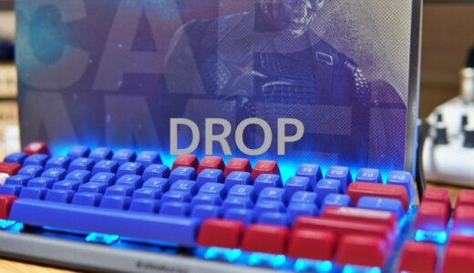 【DROP+MARVEL】数量限定コラボのキーキャップ「キャプテンアメリカVer」をレビュー